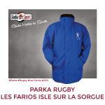 Parka - Les Farios Rugby Isle sur la Sorgue