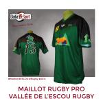 Maillot Pro Rugby - ESCOU