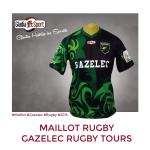 Maillot Rugby - Gazelec Rugby Tours