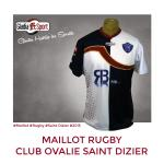 Maillot - Club Ovalie Saint Dizier