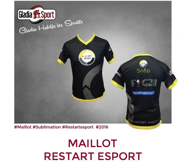 [REALISATIONS] Les maillots de e-sport sont chez Gladiasport