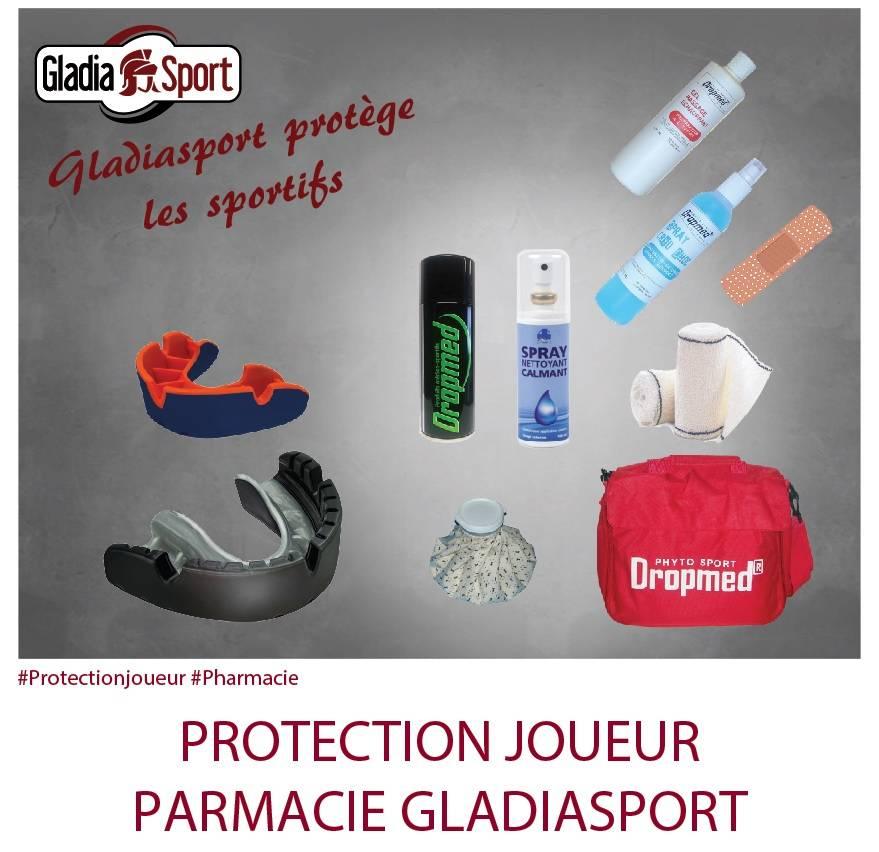 [REALISATION] Pour prévenir et guérir les blessures, Gladiasport vous propose protection et pharmacie