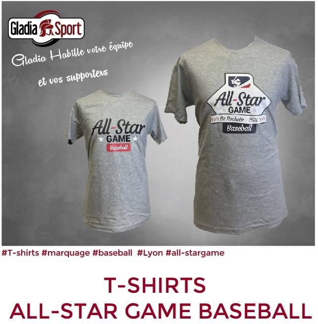 [ILS SONT GLADIASPORT] All-star game, T-shirts personnalisés