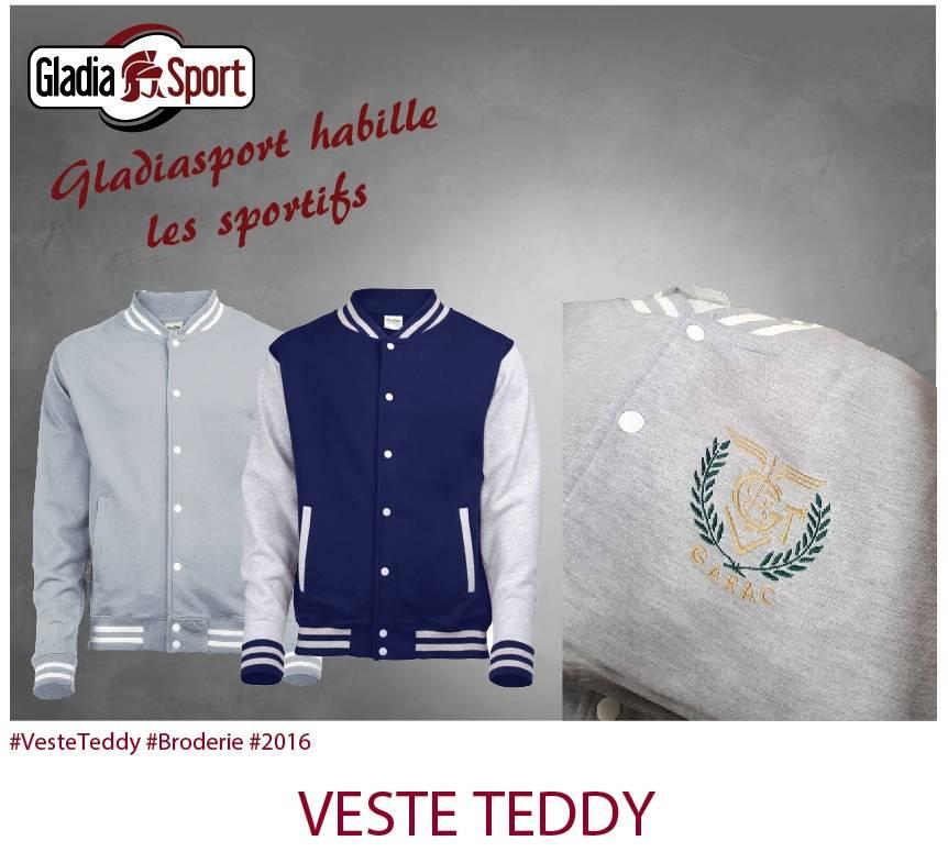 [REALISATION] Le teddy Gladiasport, l'élégance du sport