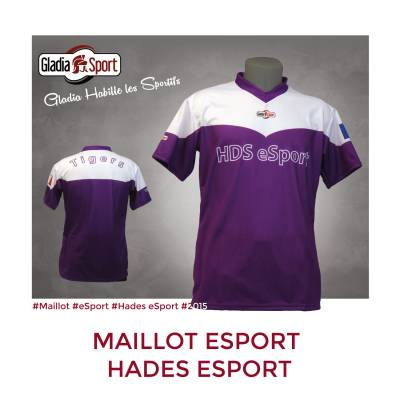 [Réalisation] Les maillots de la team Hades eSport.