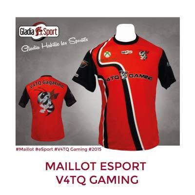 [Réalisation] Les maillots de la V4TQ eSport Team.
