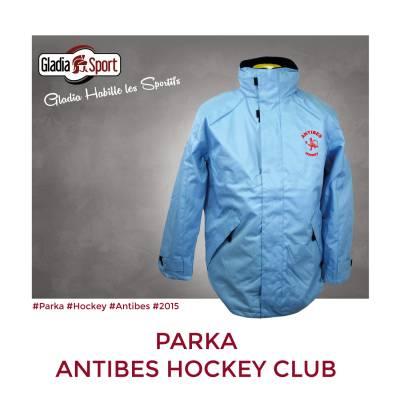[Réalisation] Les Parkas du Antibes Hockey Club.