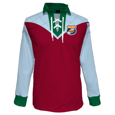 Le maillot Rugby Vintage by Gladiasport.