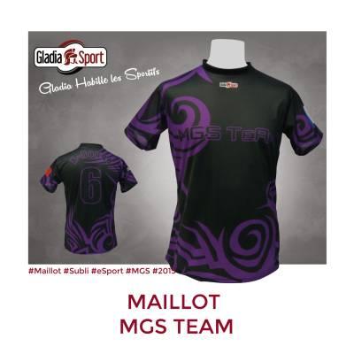 [Réalisation] Les maillots de la MGS Team.