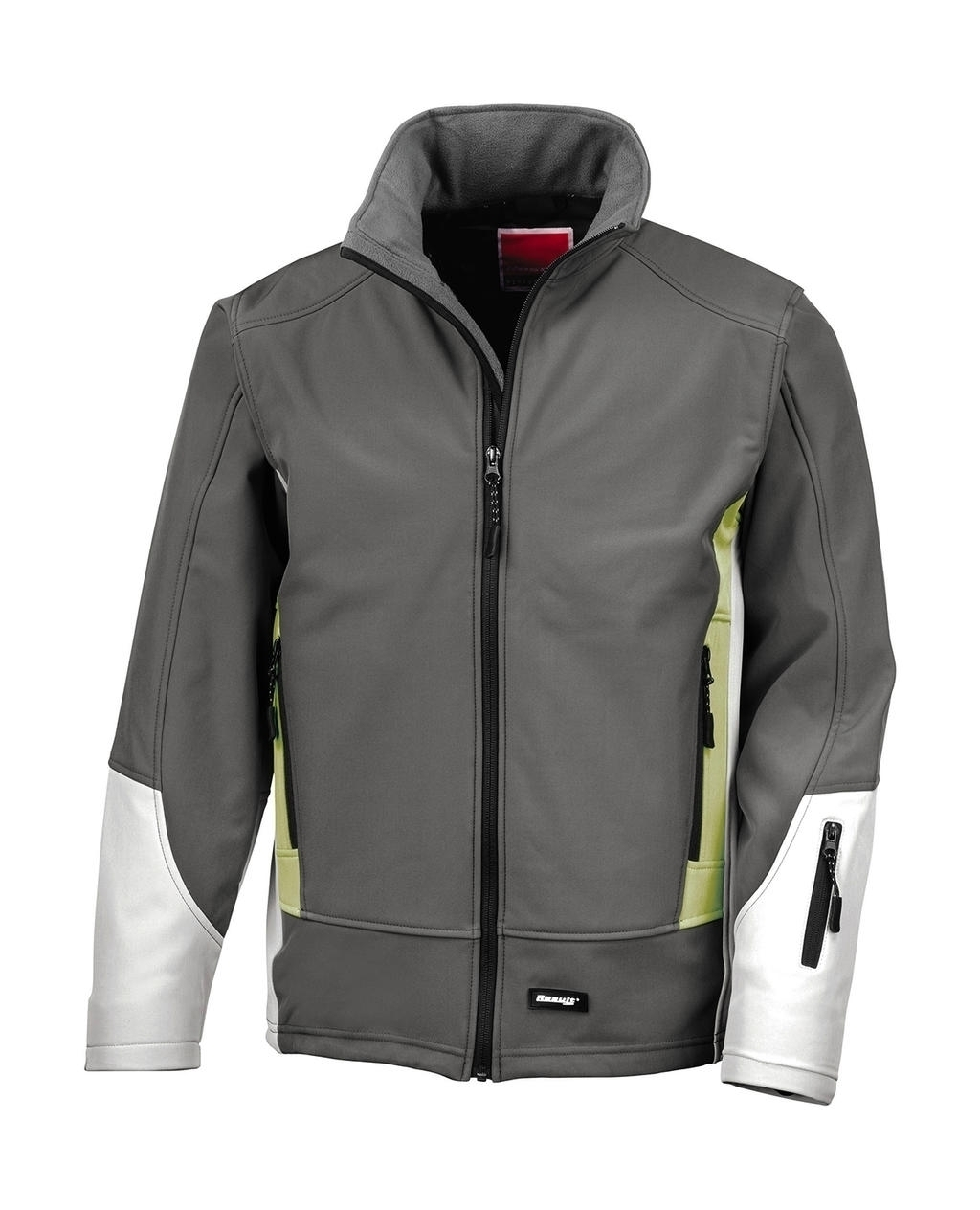 Blade Soft Shell Jacket Charcoal/Pampas/Pale Grey Gris