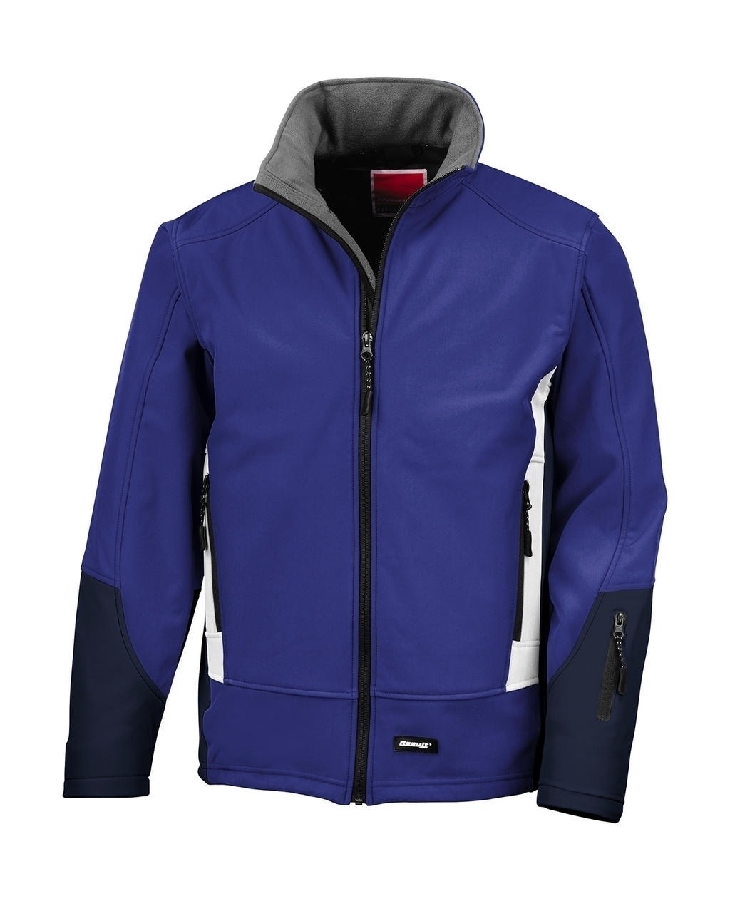 Blade Soft Shell Jacket Royal/Navy/Pale Grey Bleu
