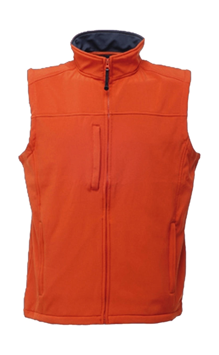 Flux Softshell Bodywarmer Firebrick/Seal Grey Rouge