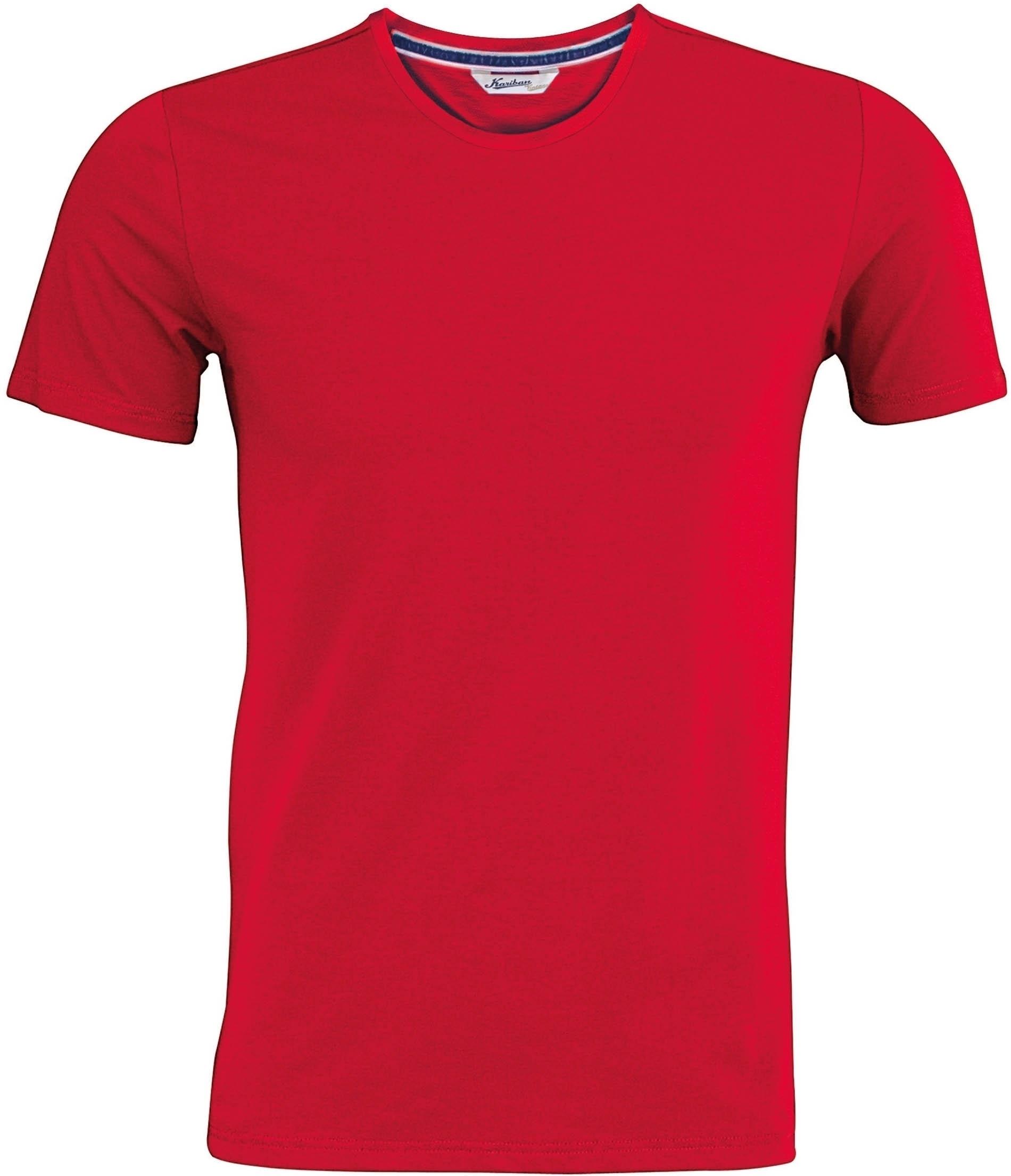 t shirt homme manches courtes encolure ronde vintage red. Black Bedroom Furniture Sets. Home Design Ideas