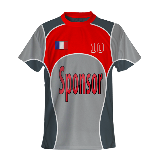 Maillot Foot PRO GladiaSport col rond Sublimation Impression