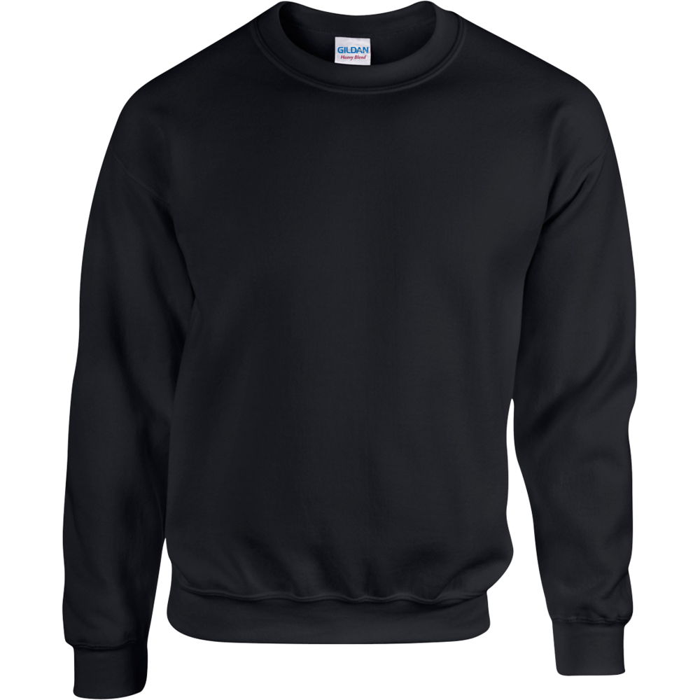 SWEAT-SHIRT COL ROND HEAVY BLEND™  Black