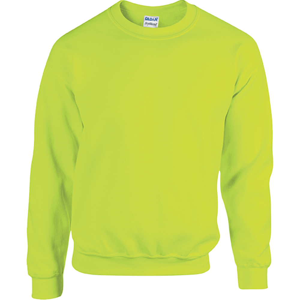 SWEAT-SHIRT COL ROND HEAVY BLEND™ Safety Yellow Jaune