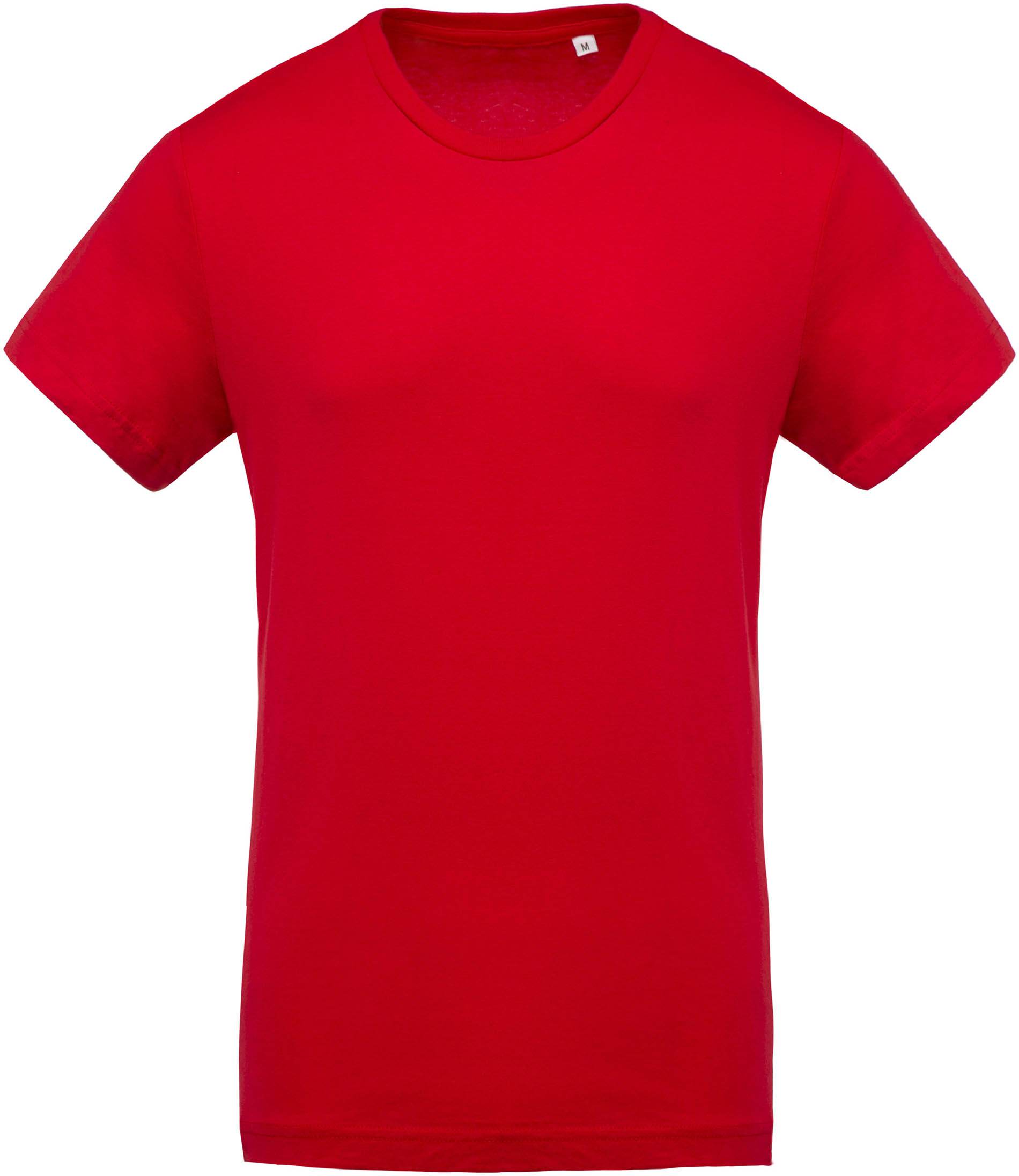 t shirt coton bio col rond homme red gladiasport. Black Bedroom Furniture Sets. Home Design Ideas