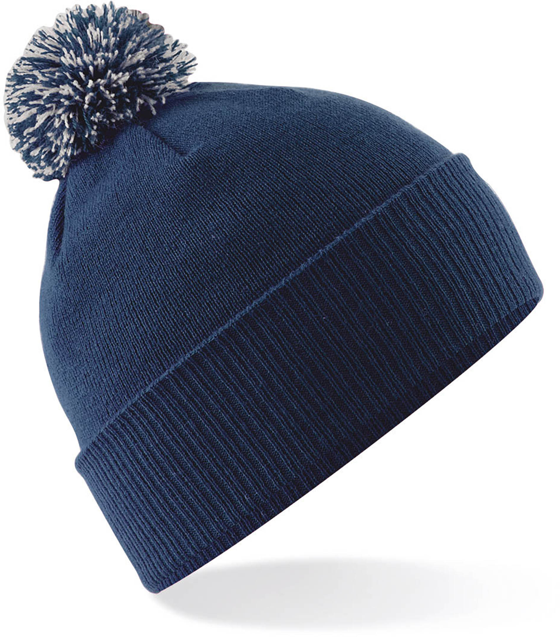 Bonnet Snowstar jacquard  French navy Light grey