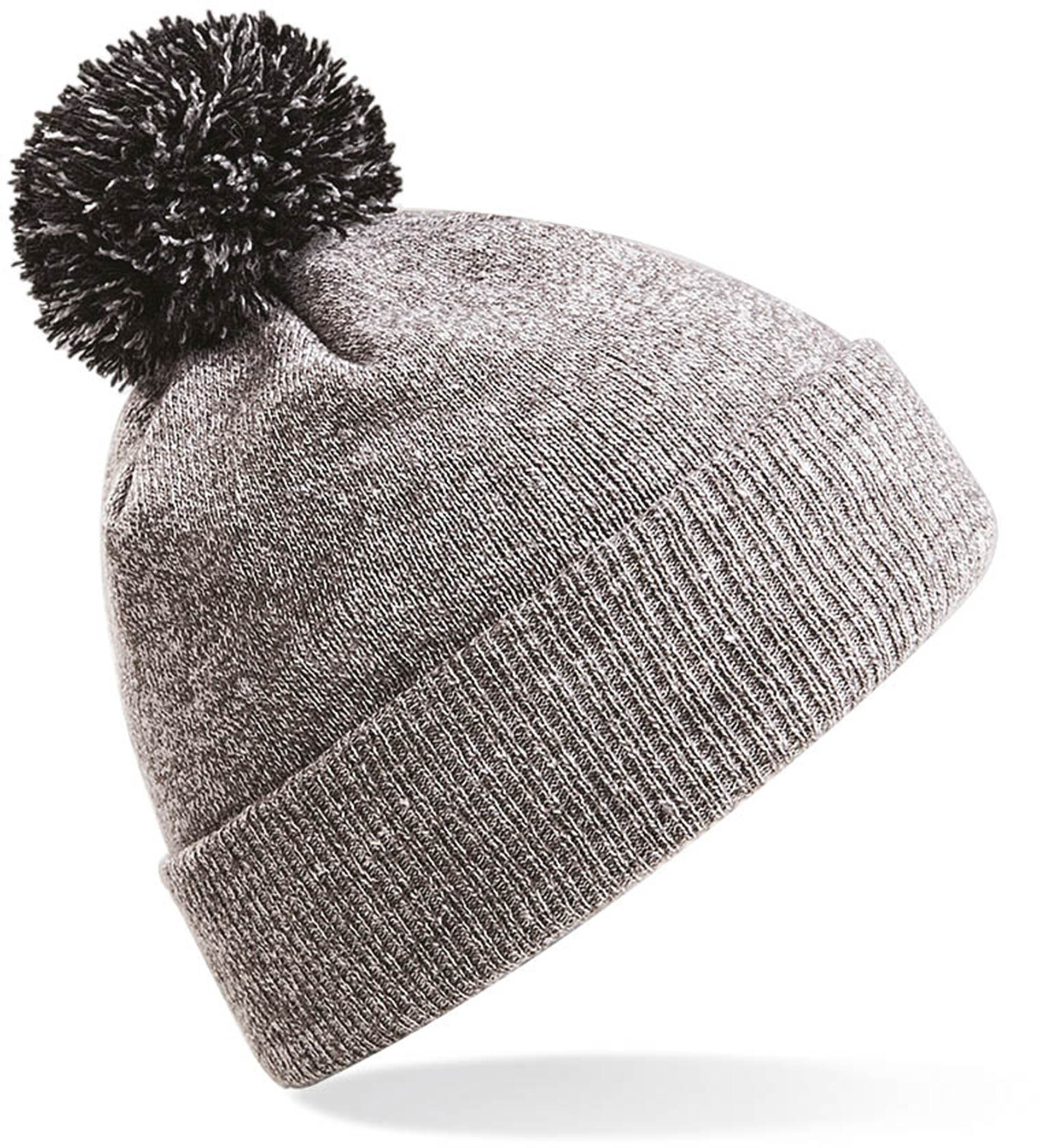 Bonnet Snowstar  Heather grey Black