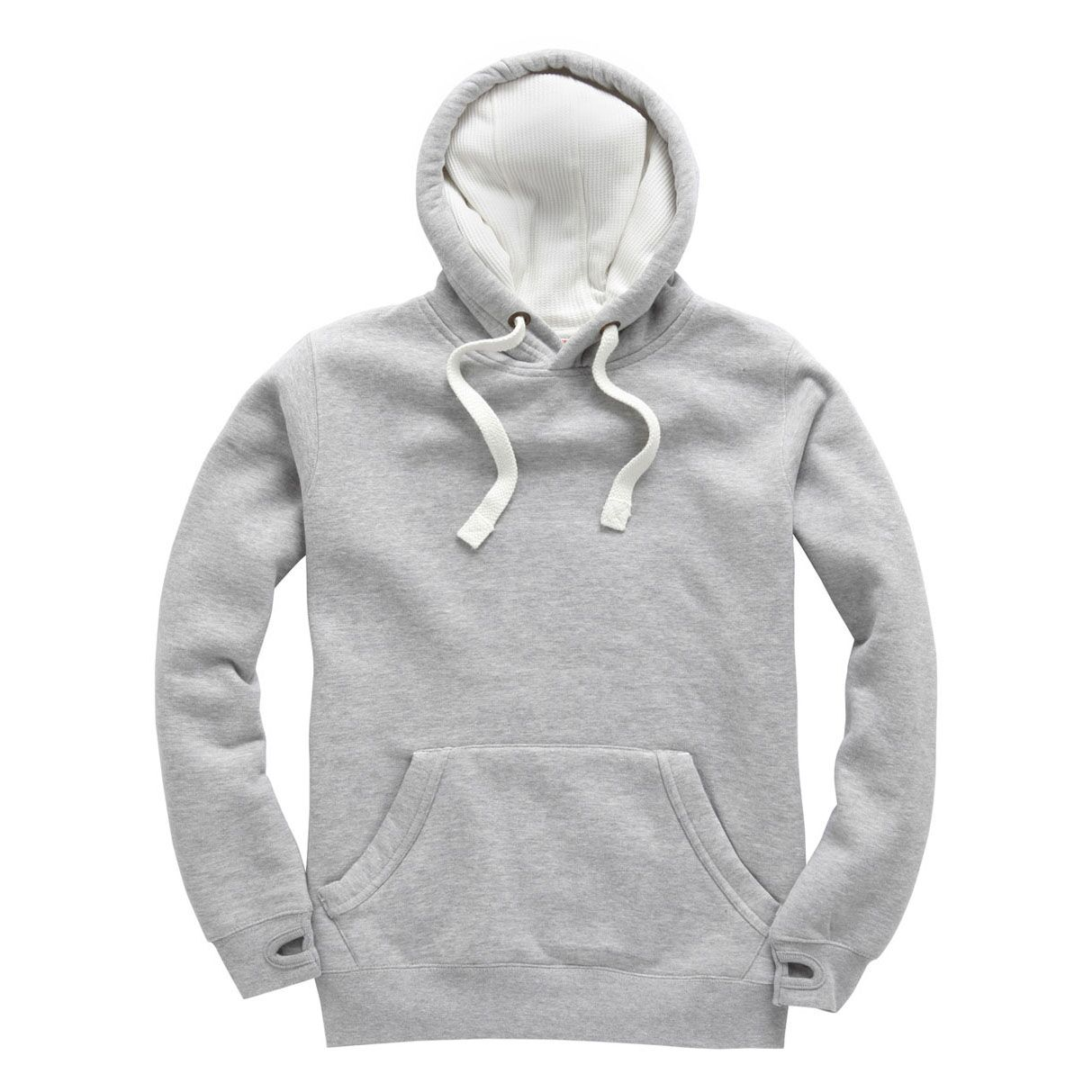 Hoodie Deluxe gris Gris Chiné