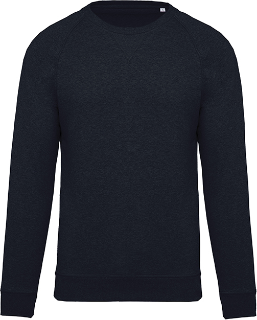 Sweat-shirt ptit bio col rond homme French Navy Heather Bleu