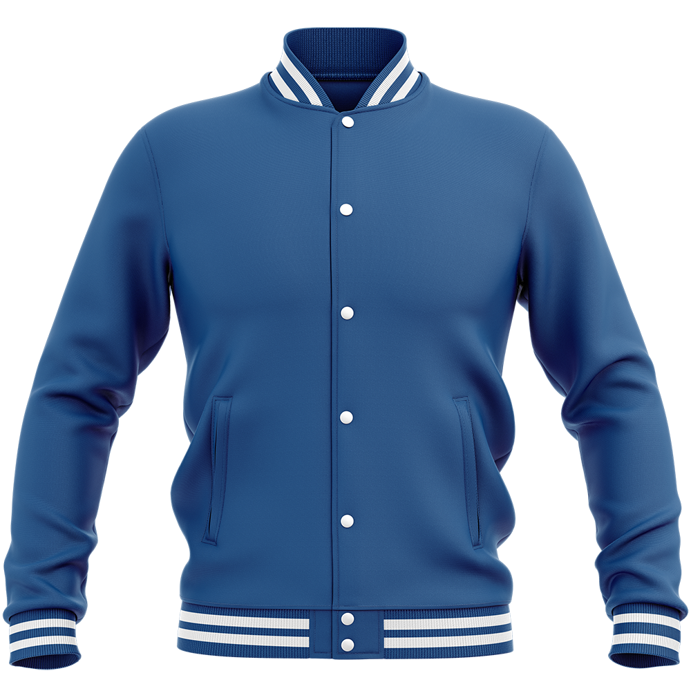 Teddy - Veste Varsity College Unie Royal Blue Bleu