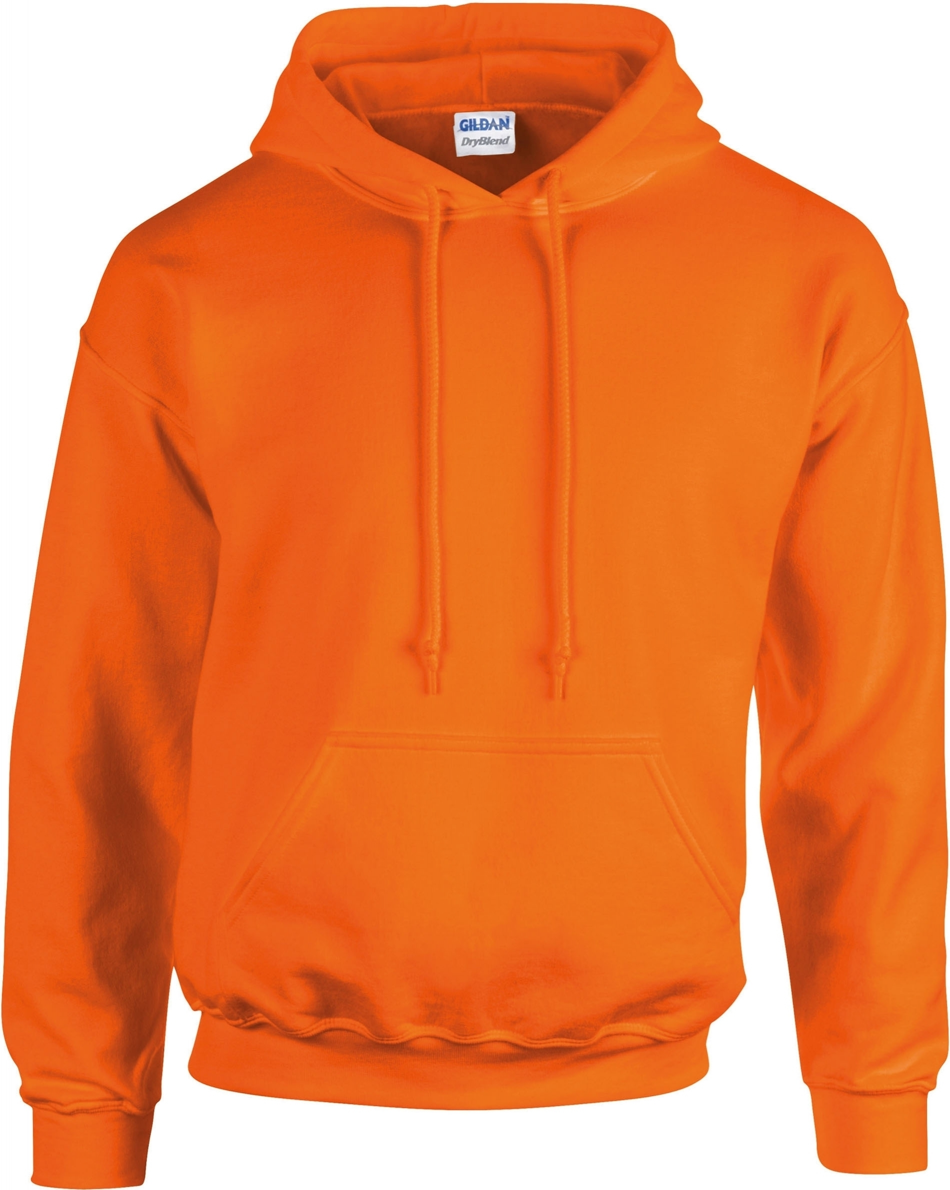 sweat shirt capuche safety orange. Black Bedroom Furniture Sets. Home Design Ideas