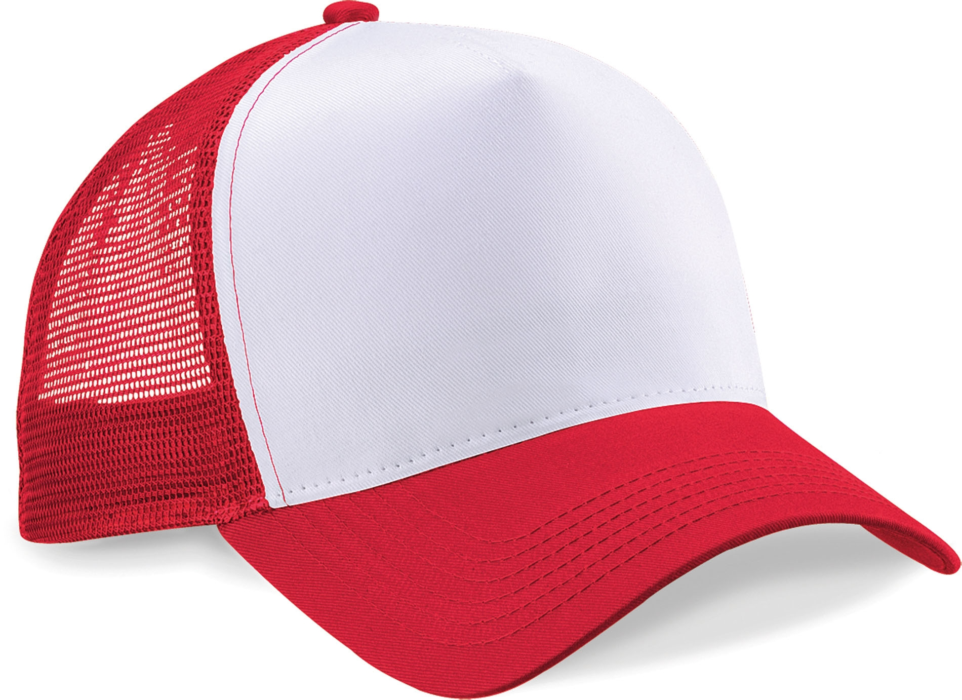 Casquette américaine Classic Red / White Rouge