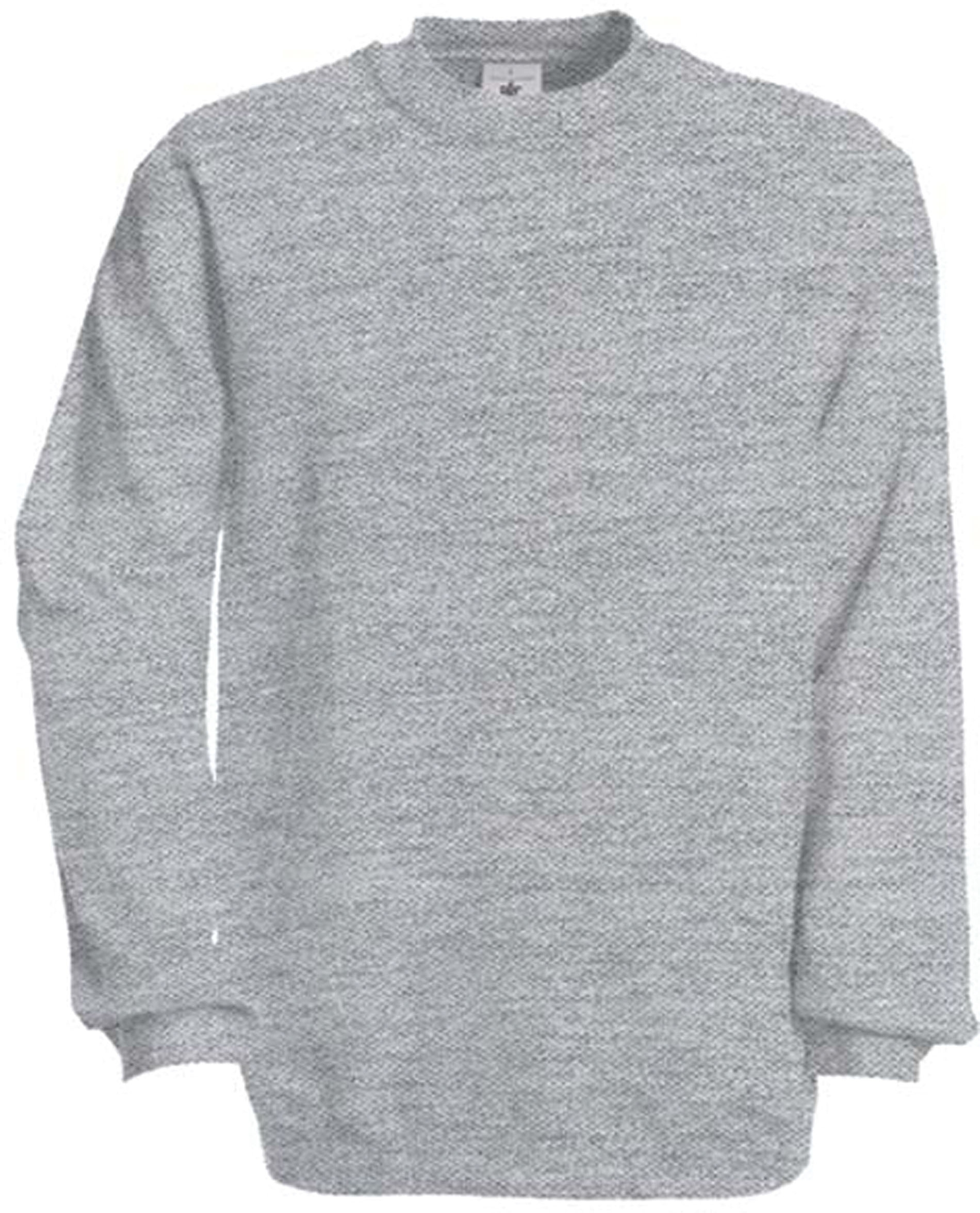 sweat shirt manches col rond heather grey gladiasport. Black Bedroom Furniture Sets. Home Design Ideas