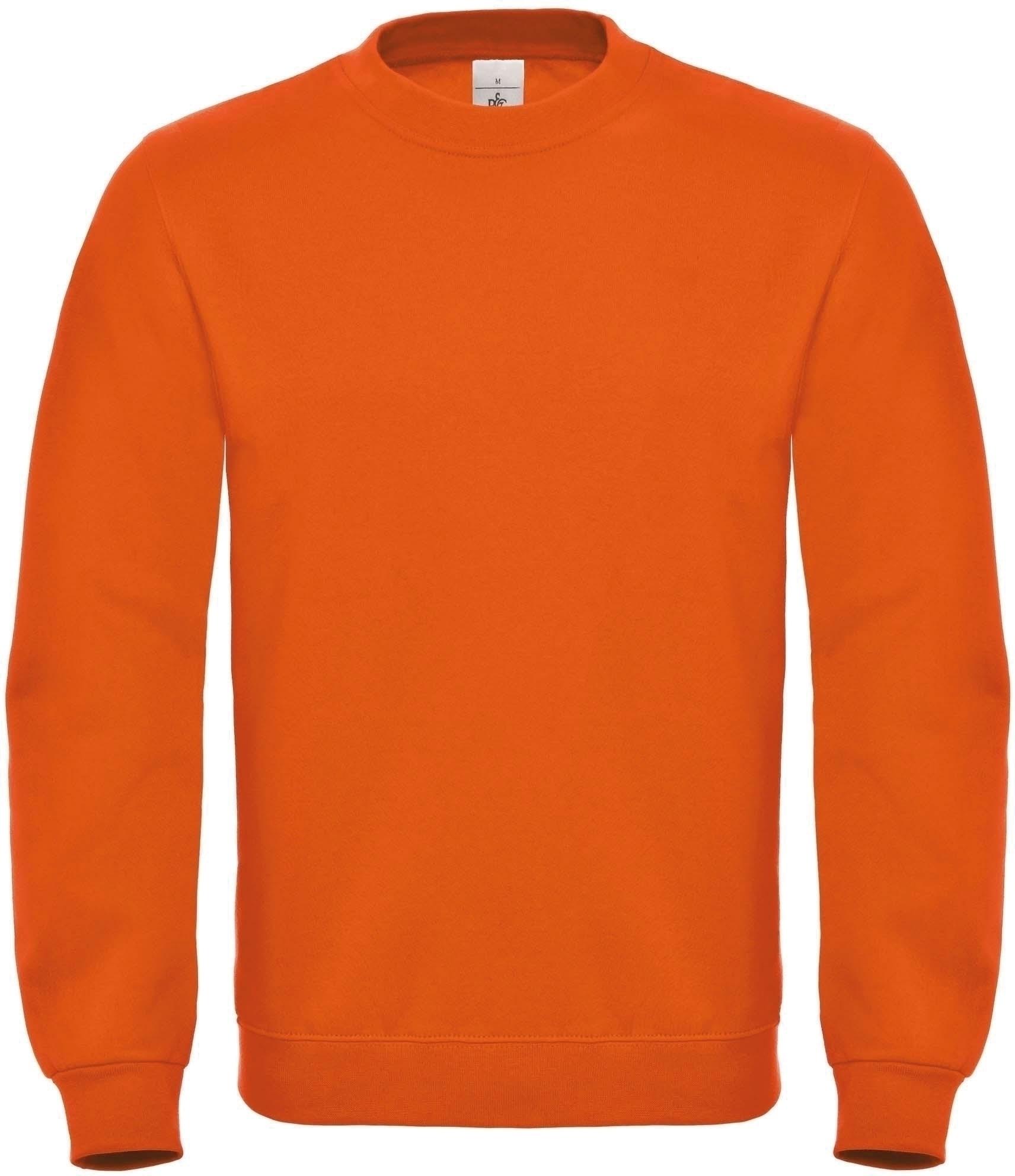 sweat shirt col rond orange gladiasport. Black Bedroom Furniture Sets. Home Design Ideas
