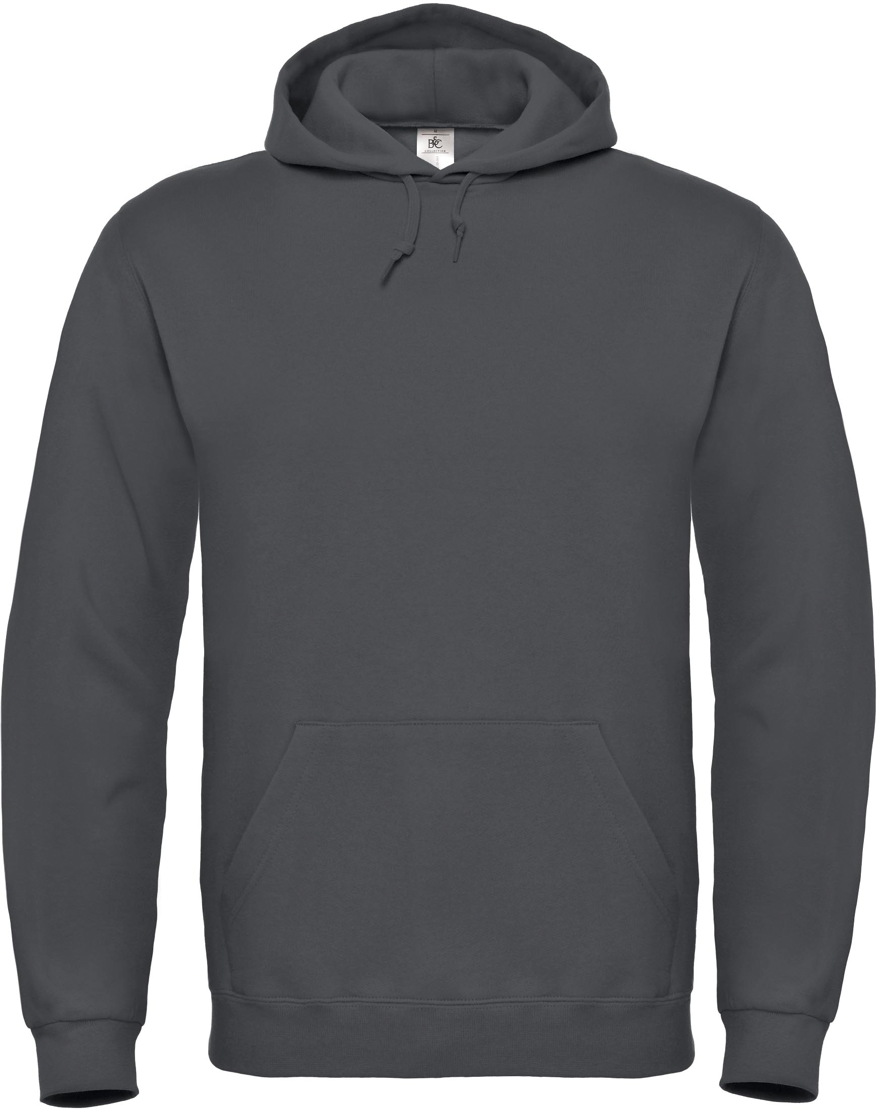 SWEAT-SHIRT CAPUCHE ID.003 Anthracite Gris