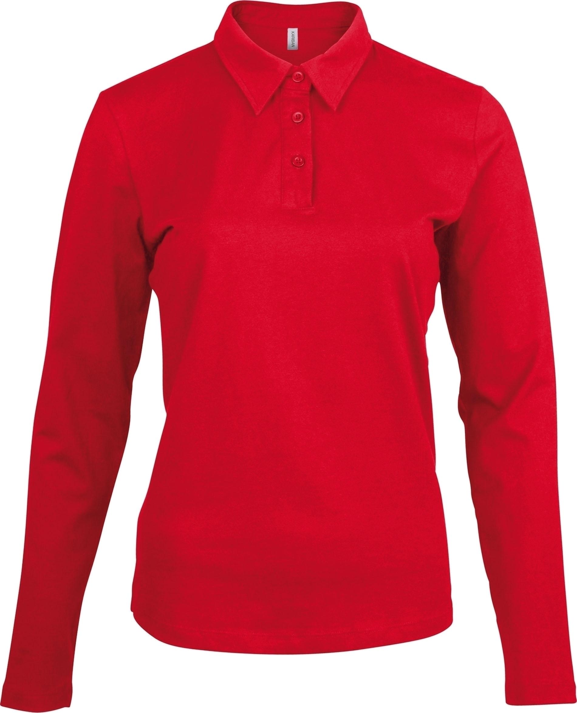 Longues Jersey Manches Femme Gladiasport Red Polo K3FTlJc1