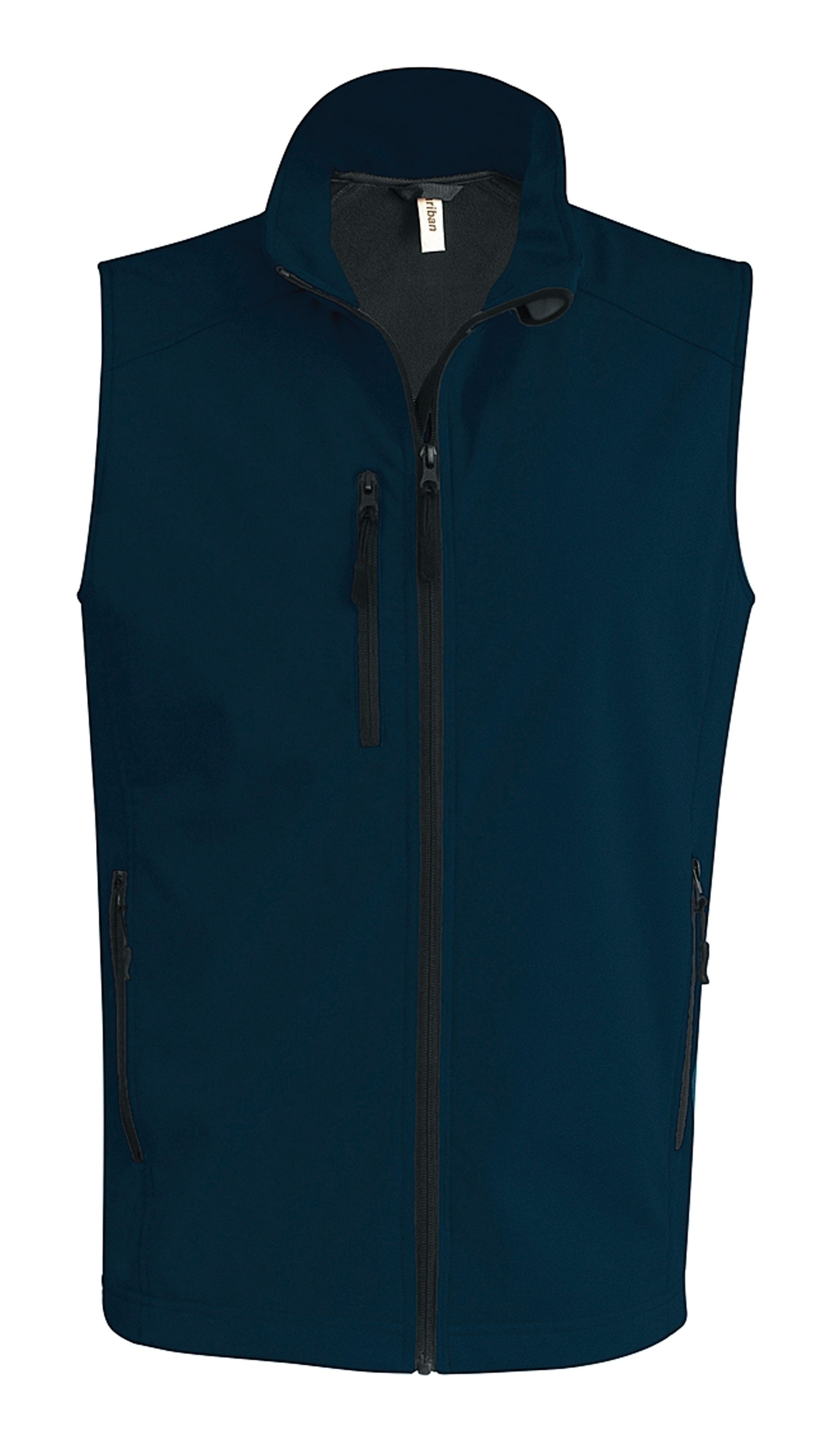 BODYWARMER SOFTSHELL Navy Bleu