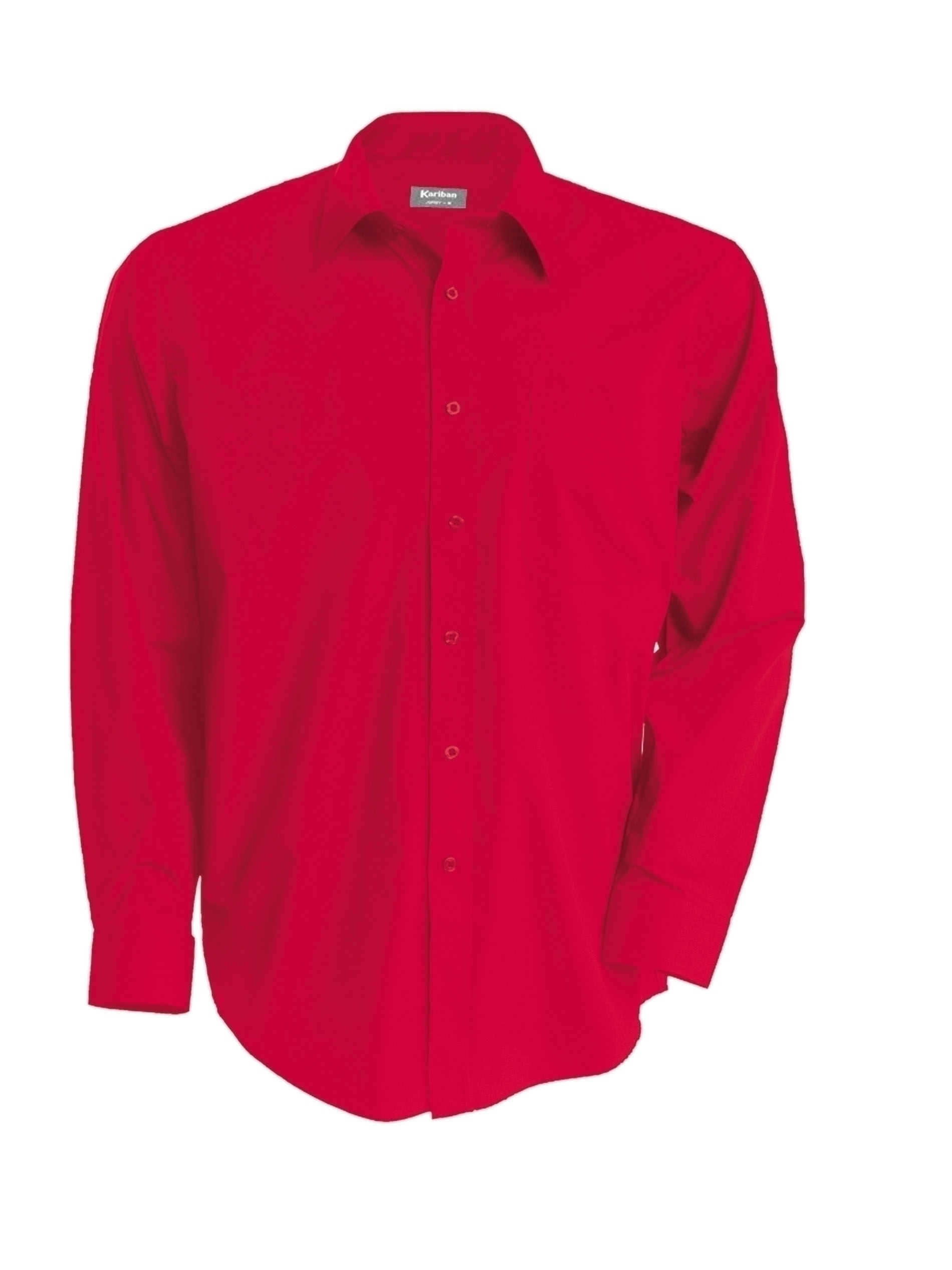 jofrey chemise manches longues classic red gladiasport. Black Bedroom Furniture Sets. Home Design Ideas