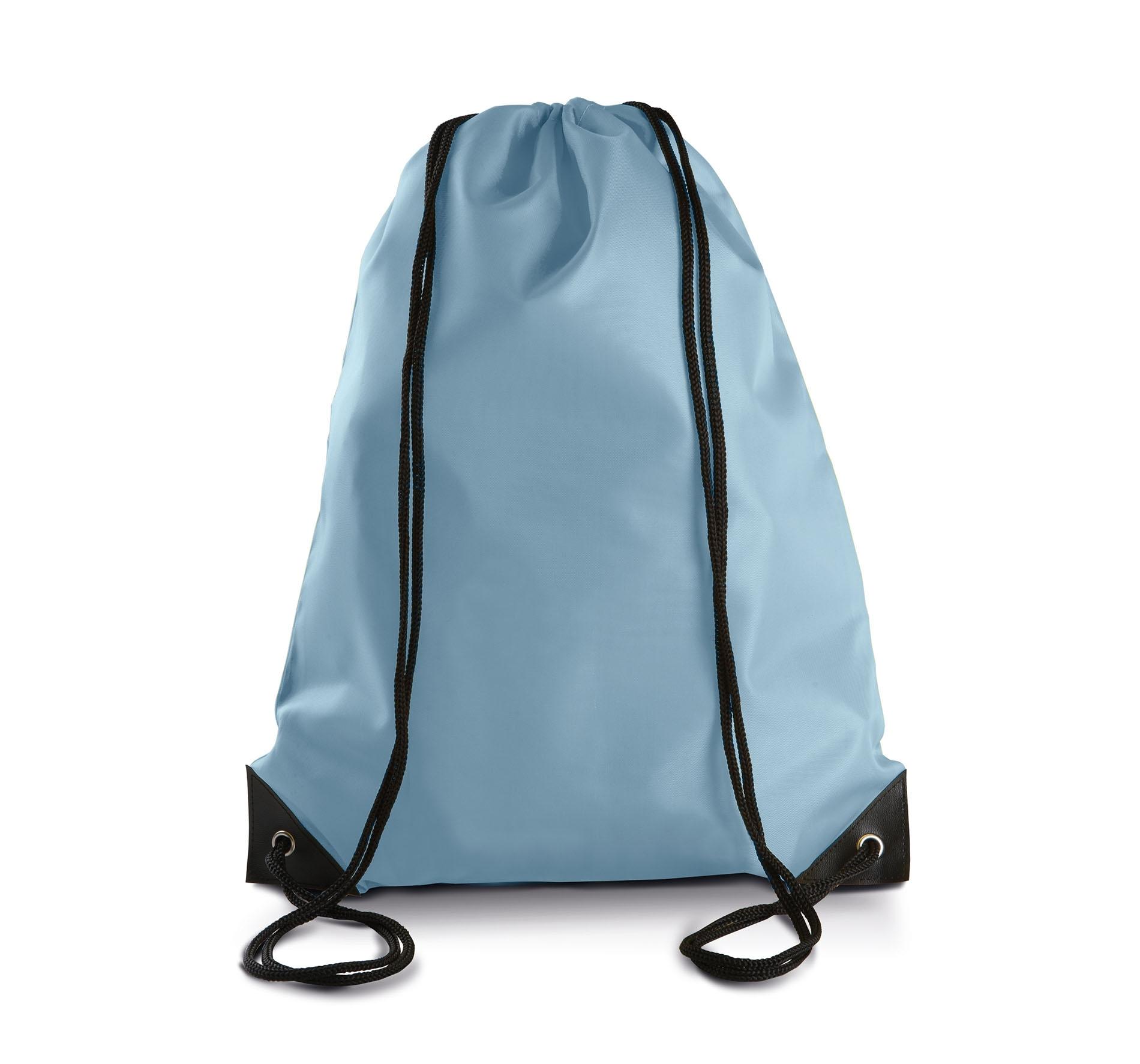 Sac dos avec cordelettes sky blue gladiasport for Sac piscine personnalise