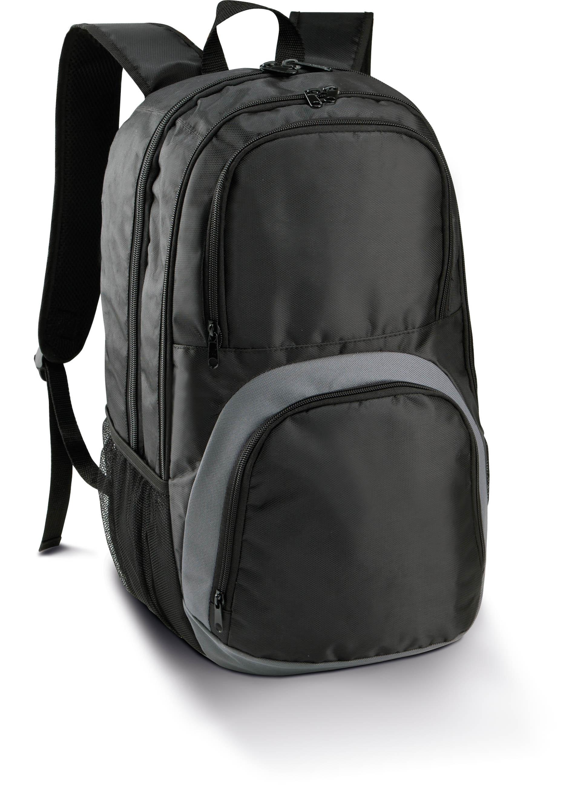sac dos sport l gant black slate grey gladiasport. Black Bedroom Furniture Sets. Home Design Ideas