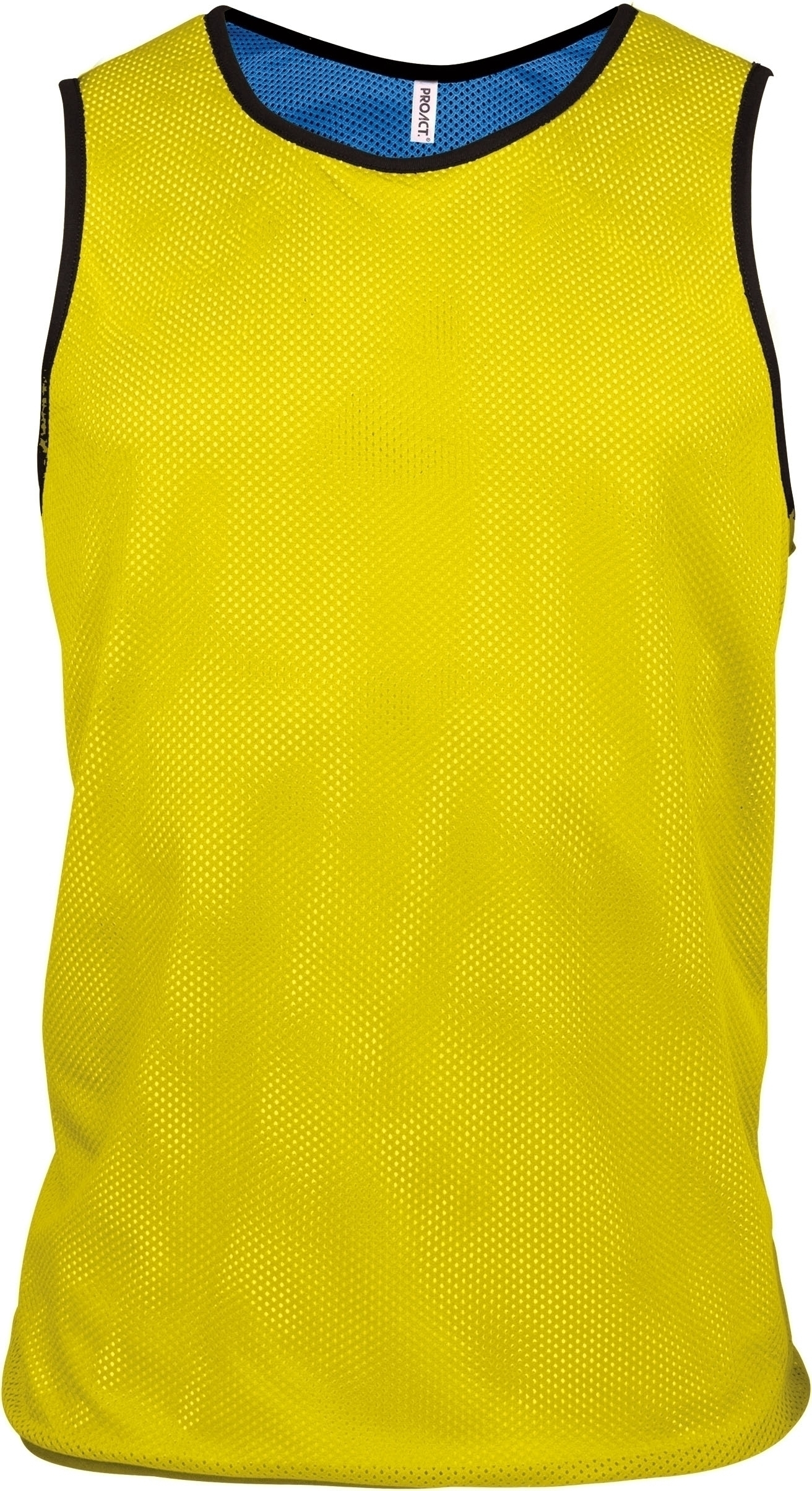 CHASUBLE RÉVERSIBLE MULTISPORTS ADULTE ET ENFANT Fluorescent Yellow / Sporty Royal Blue Jaune