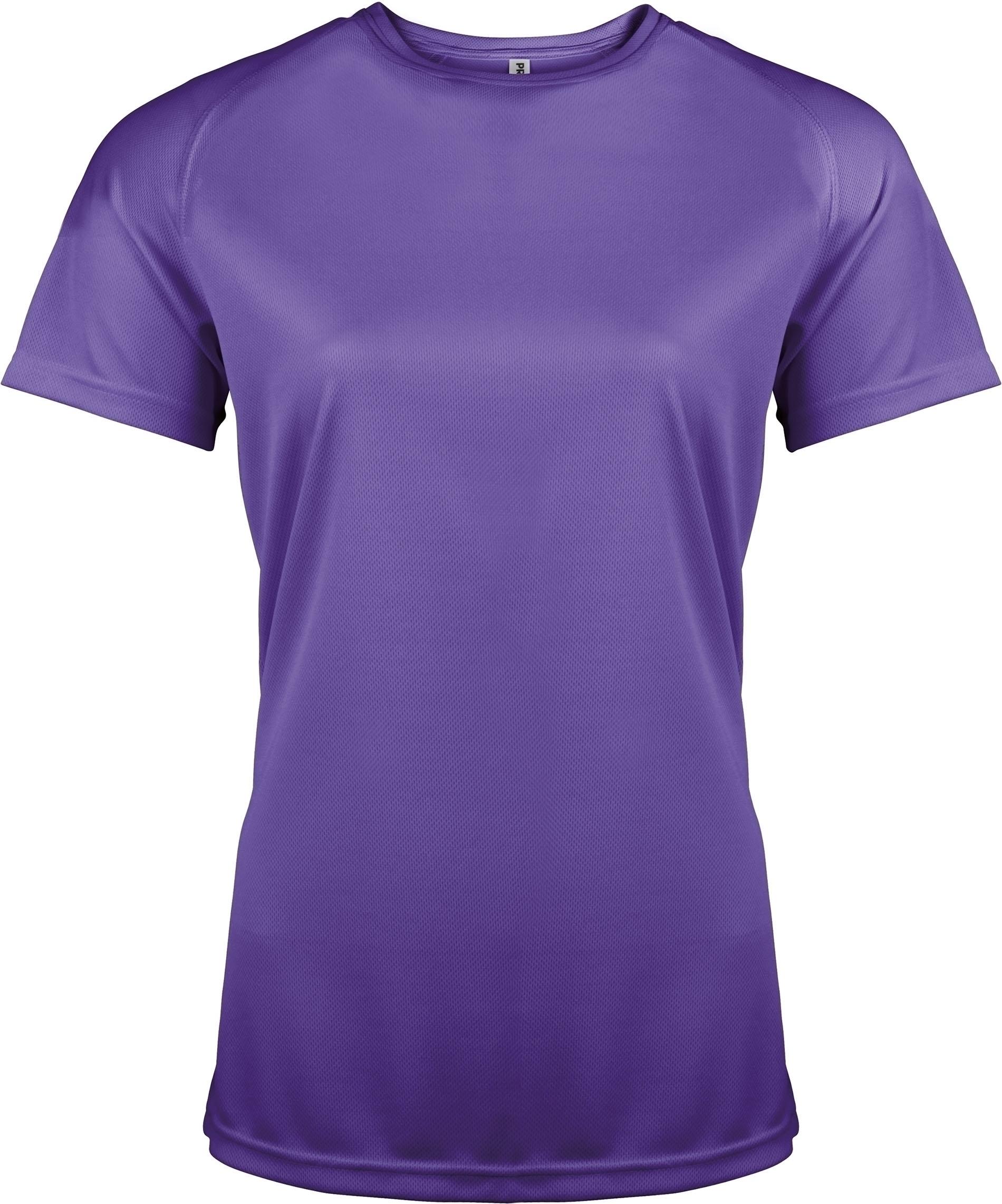t shirt sport manches courtes femme proact violet gladiasport. Black Bedroom Furniture Sets. Home Design Ideas