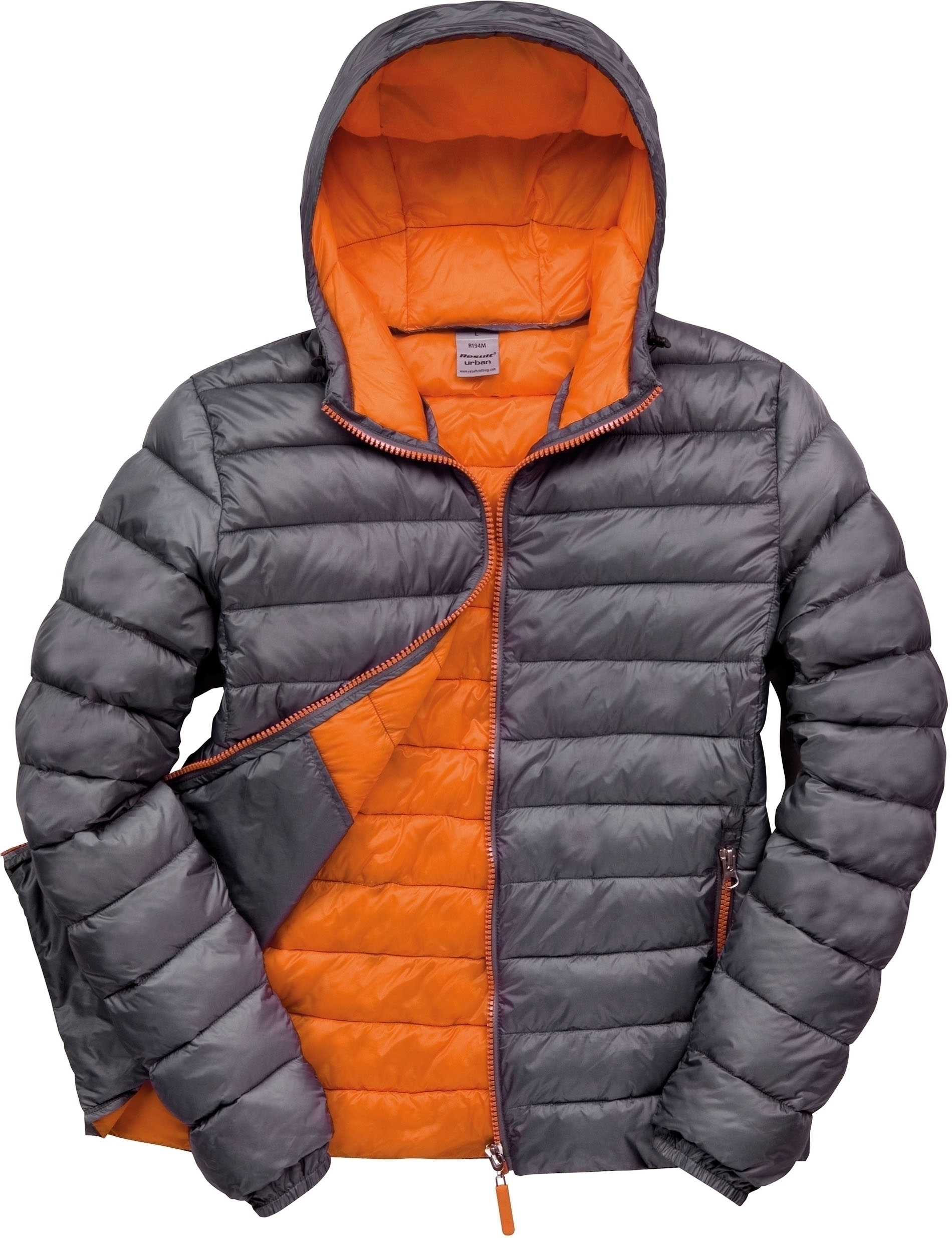 DOUDOUNE HOMME SNOWBIRD Grey / Orange Gris