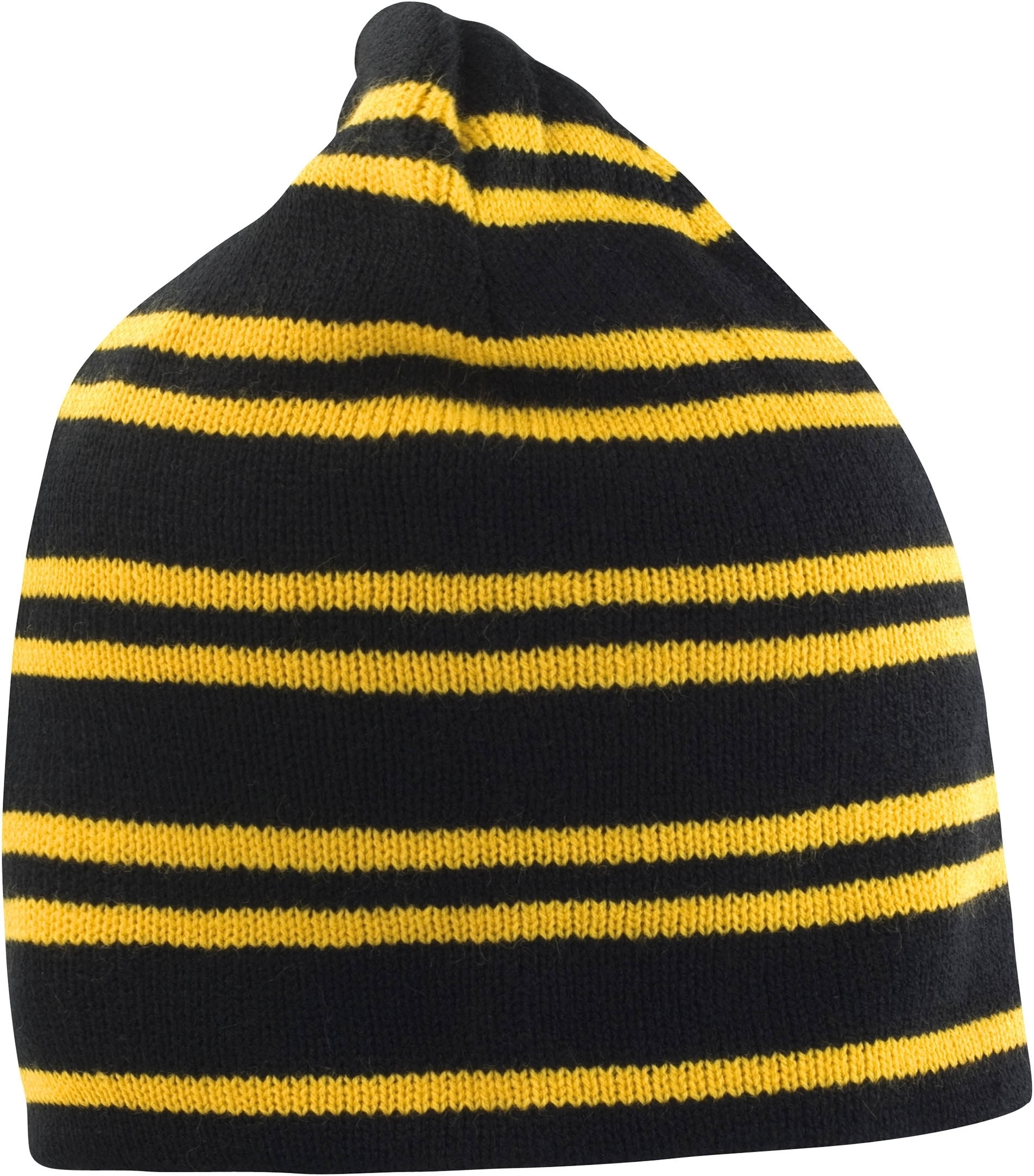 Bonnet réversible Team Black / Gold / Black Noir